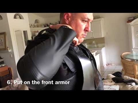 Putting on Death Trooper Armor