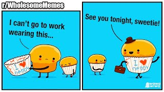 Can't go BOTTOMLESS to work! 💜 | r/WholesomeMemes