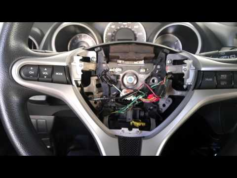 Add Radio Steering Wheel Controls To 2009-2013 Honda Fit