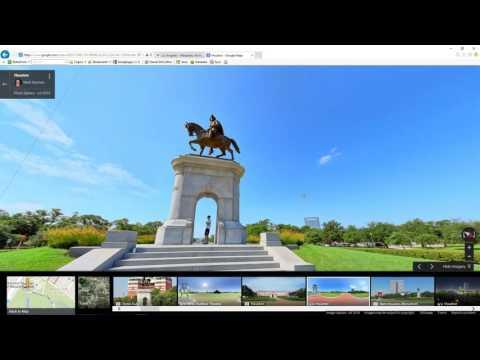 Quick Houston Texas City tour video using photo spheres, photos and maps. Tour of Houston video