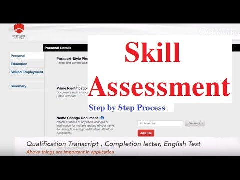 Skill Assessment    Step By Step Process    Engineers Australia