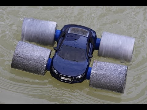 How to make a Boat Car - Car Driving On Water And Road - car