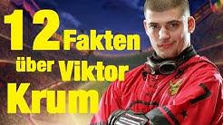 12 FAKTEN über Viktor KRUM
