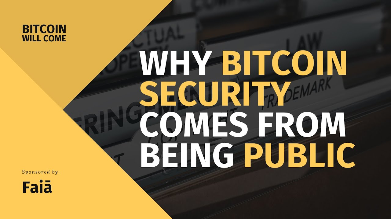Why Bitcoin's Security Comes From Being Public | EP4 BWC