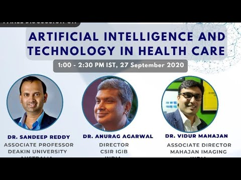 Panel discussion on Artificial Intelligence and Technology in Healthcare