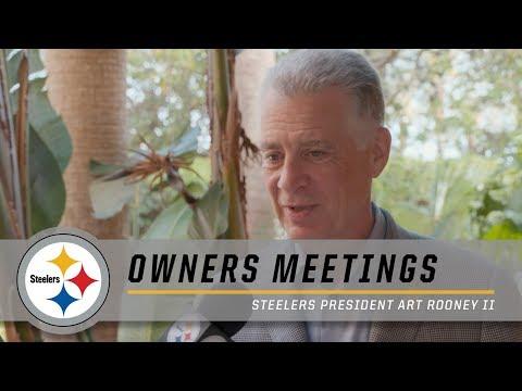 Steelers President Art Rooney II on new rule changes | NFL Owners Meetings