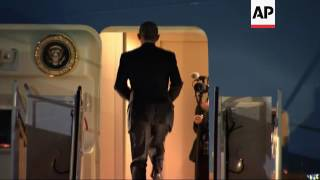 US Obama departs on three nation trip