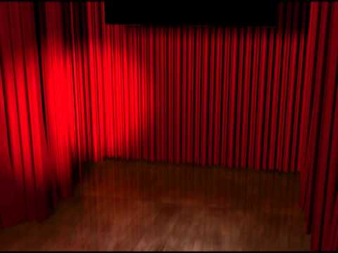 Red Curtain Video Background   Animation Motion Graphics HD
