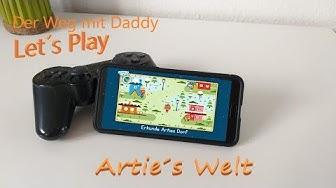 Wie ist die App Arties Welt?/ Gameplay für Eltern /Für Android
