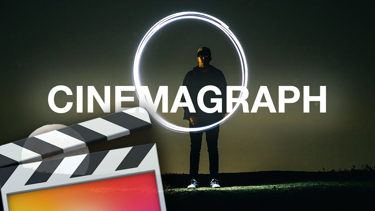 How To Make A Cinemagraph (Moving Picture) - Final Cut Pro ...