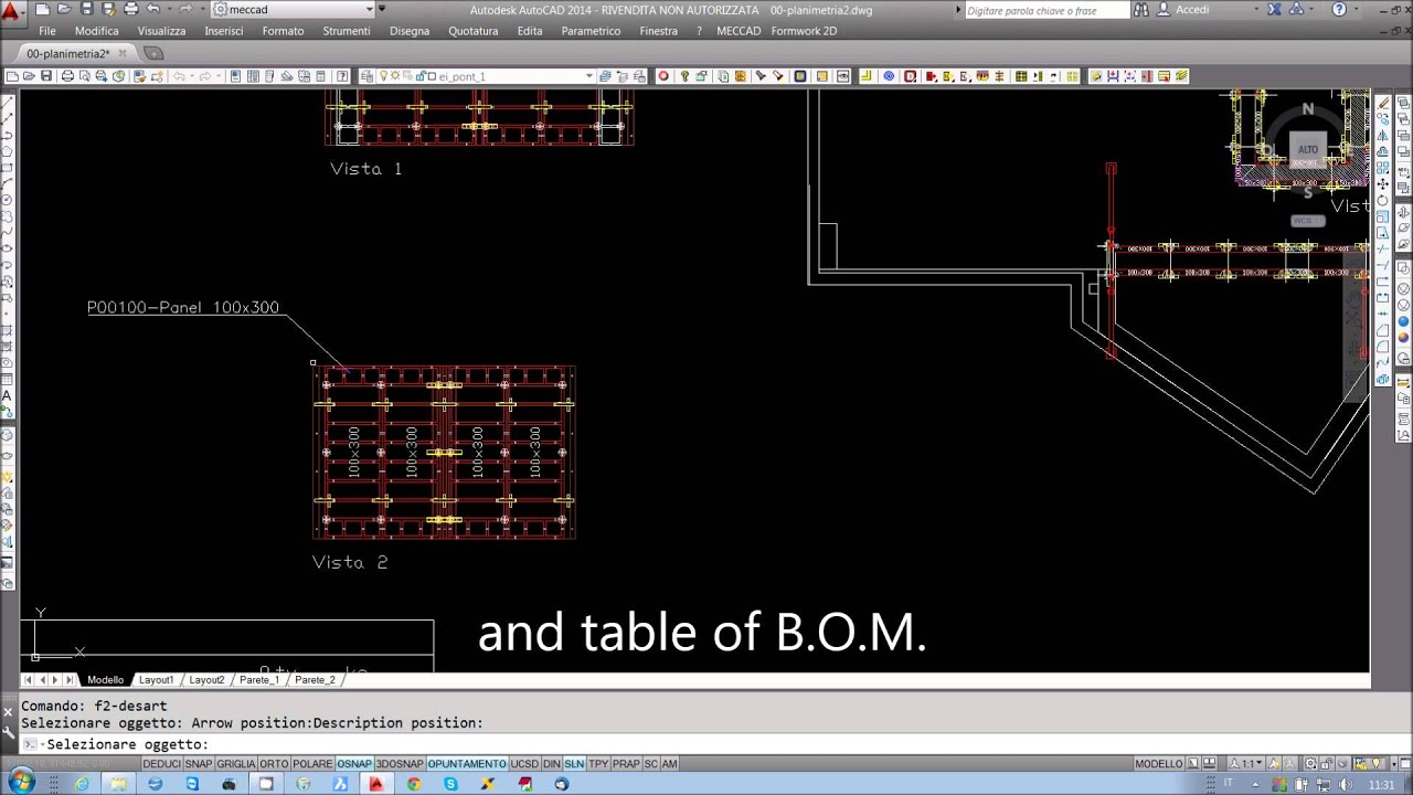 How to design formworks in 2D - 2013