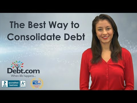 The Best Way To Consolidate Debt | Debt.com