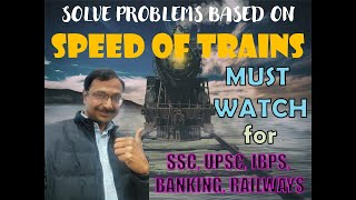 Trick 94 - Solve all Problems based on Trains