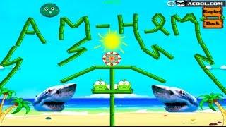 - Ам Ням Пьет Воду 2  Игра Мультик  Om Nom Frog Drink Water 2  Game Cartoon