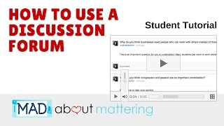 Learn how discussion forums work. using reddit and the wikispaces forum, students will basic board netiquette to contribu...