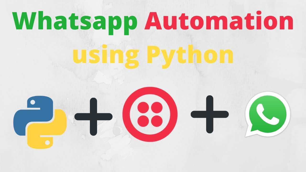 How to automate whatsapp message using python
