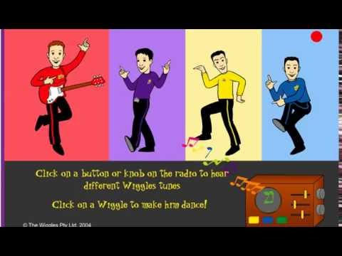 THE WIGGLES WIGGLY RADIO DANCE AND SING GAME ACTIVITY FOR KIDS FUN MUSIC WIGGLY SHOW