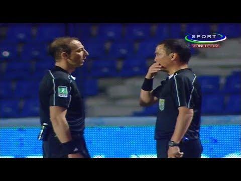 """""""Paxtakor"""" - """"Bunyodkor"""" 1:0. Xato hisoblanib keyin bekor qilingan gol"""