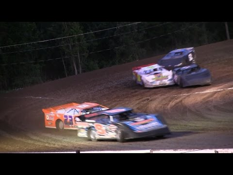Late Model heat 3 at Mount Pleasant Speedway on 6-26-15