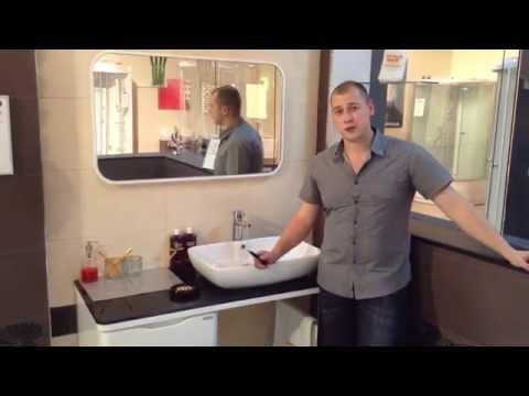 Комплект мебели для ванной комнаты Appollo UV-3872