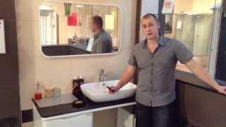 видео Комплекты мебели для ванной