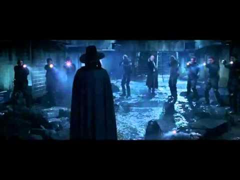 V For Vendetta Music Video - Skillet - (Hero)