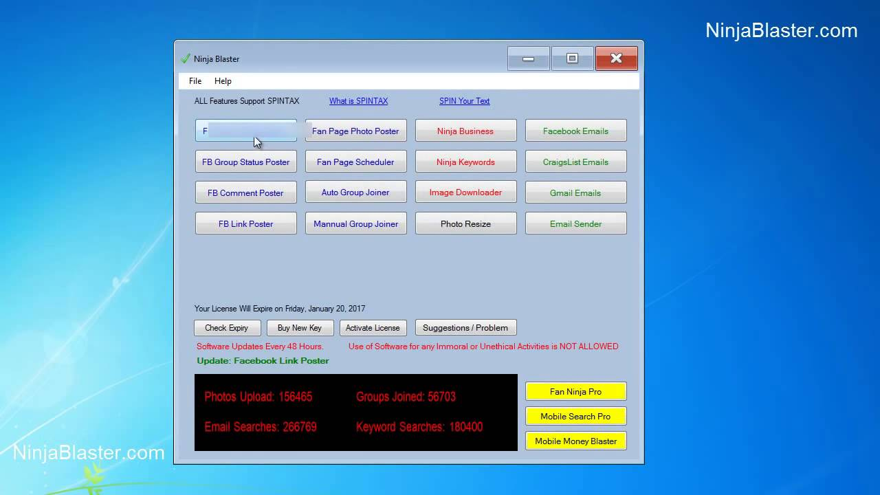 Download SendBlaster Pro 3 with key 2 15 - The8x Net