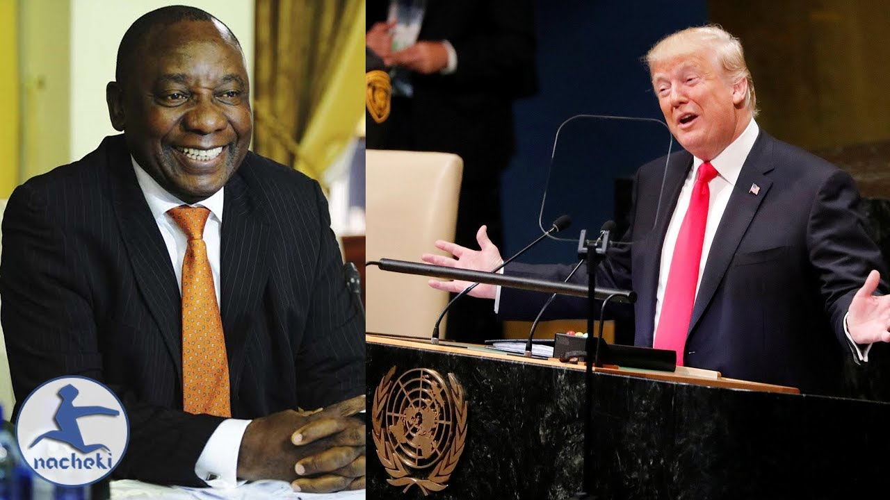 South Africa President Shows Trump How to Make a Proper UN Speech