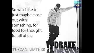 Drake - Tuscan Leather [Official Lyric Video] 1080p HD