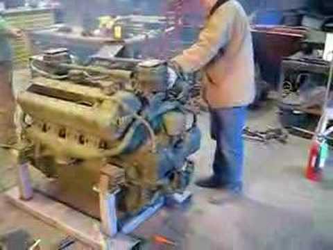 Sherman Tank Engine