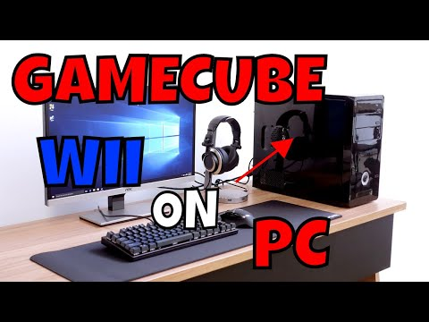 HOW TO DOWNLOAD AND PLAY GAME CUBE/WII GAMES WITH A GAMEPAD ON PC!!! (Dolphin 5.0)