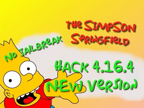 Tuto Complet FR: TSTO Simpson Springfield Mega Hack 4.16.4/No Jailbreak/old Item...