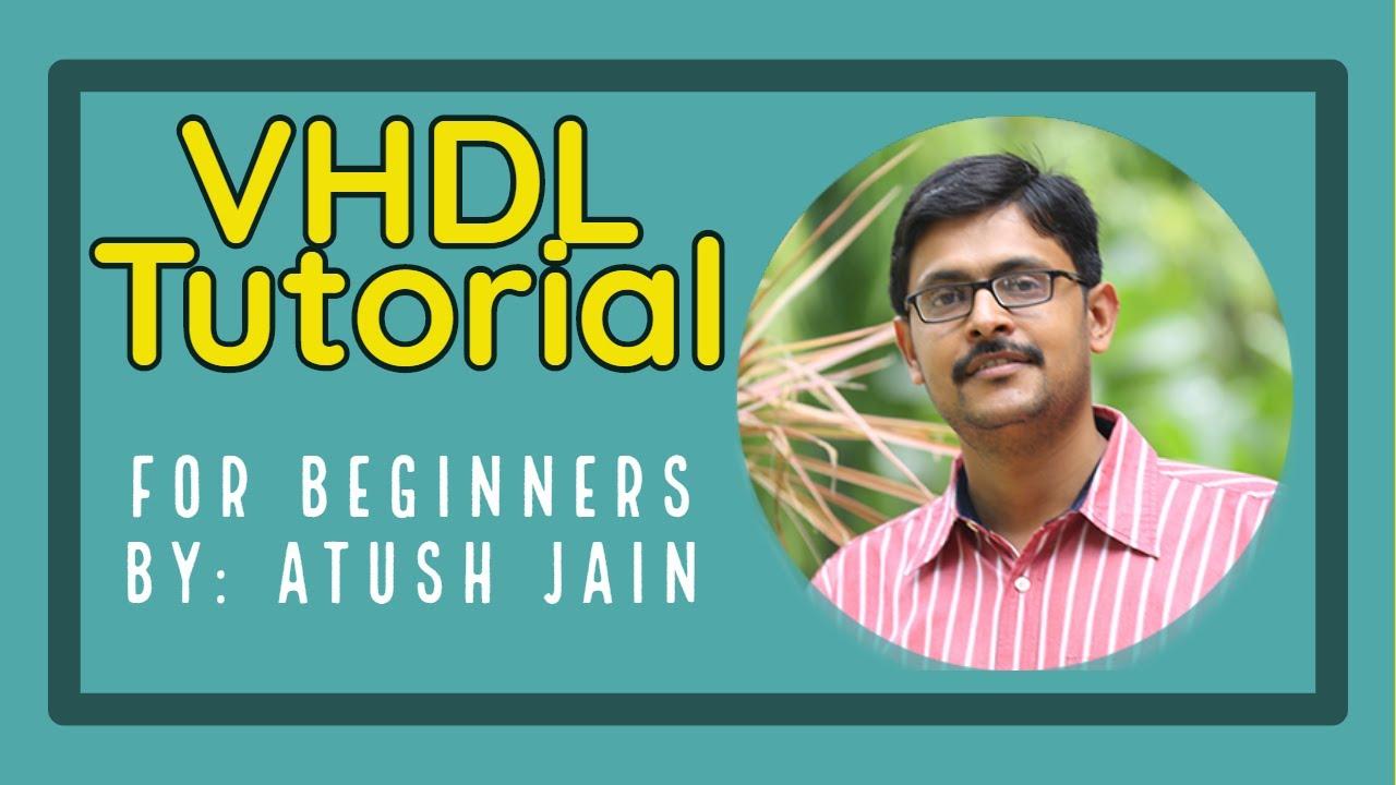 vhdl tutorial for beginners pdf