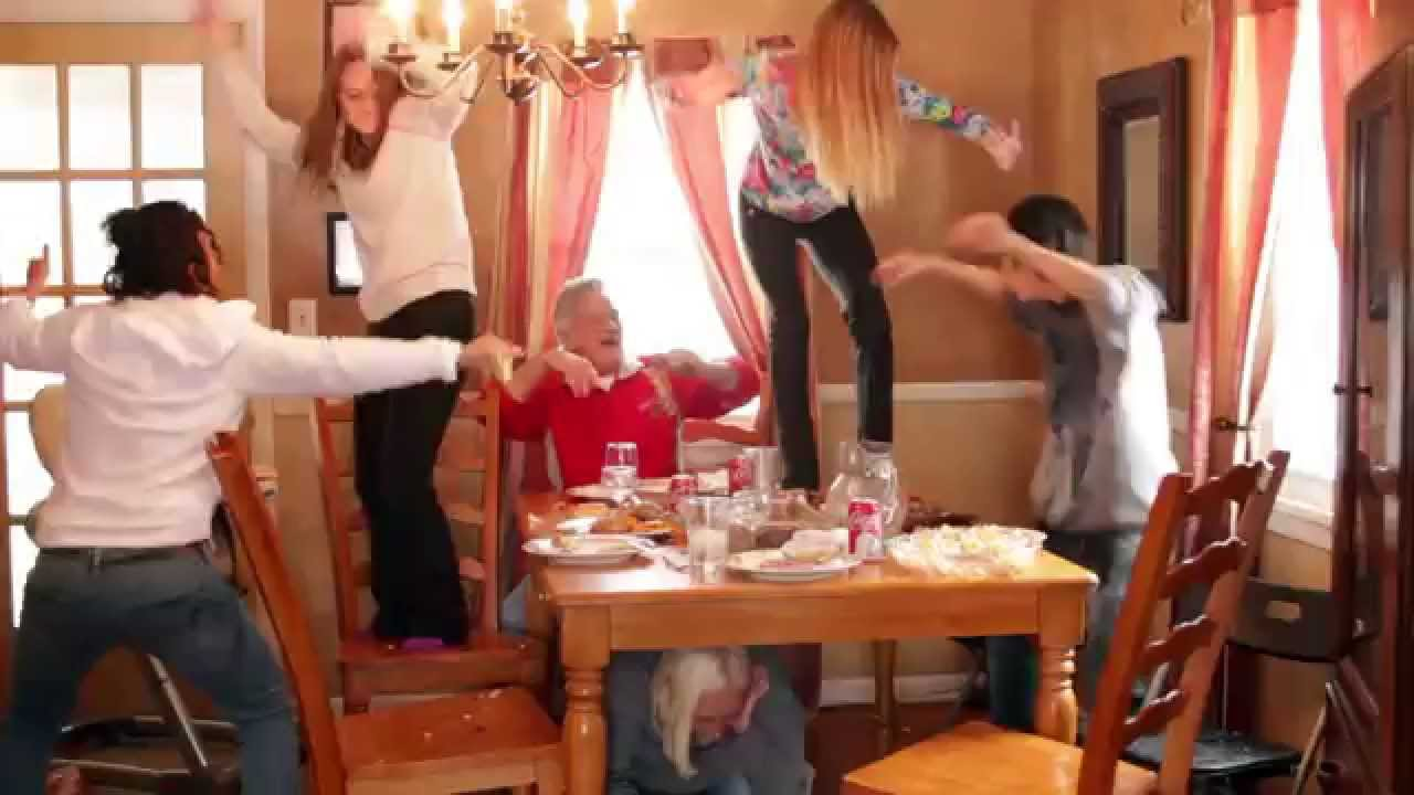 Happy Thanksgiving Food Fight