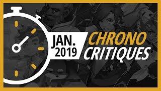 Les jeux de janvier 2019 - Chrono Critiques