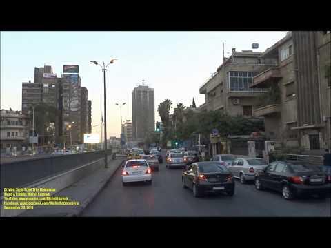 Driving: Syria Road Trip: Damascus, Syria (2018-09-23)