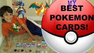 My Best Pokemon Cards Collection: Mega Lucario EX, Charizard EX, Zekrom EX, Ho-Oh EX, Blastoise EX