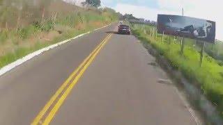 """Juninho da Hornet Carburada - Quase cai na curva. Asfalto de Juruaia """"A Capital da Lingerie"""""""
