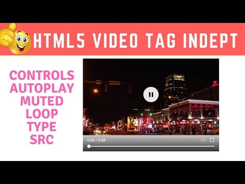 Programming Tip Of The Day #15: HTML5 Video Tag Tutorial In Hindi | Video Tag In HTML Hindi