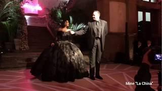 XV años de Ángela Aguilar. Emotivo vals con su papá Pepe Aguilar.  ¡Qué fiestón!