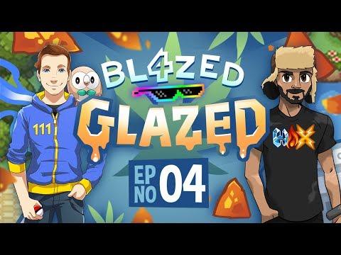 SUPER SAIYAN MONFERNO VS 1ST GYM LEADER  - Pokemon Blazed Glazed Soul Link PART 4 w/ Patterrz