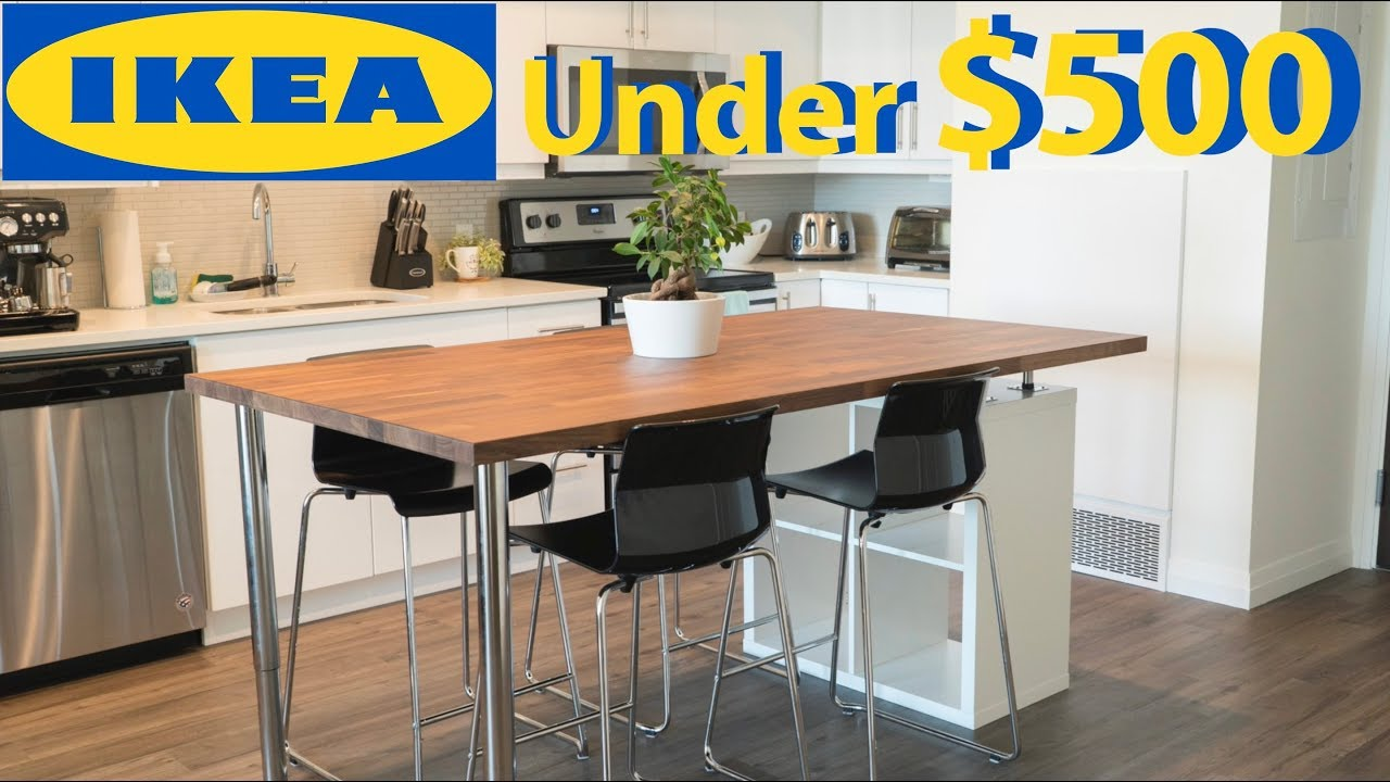 DIY IKEA Kitchen Island for Under $500 - YouTube