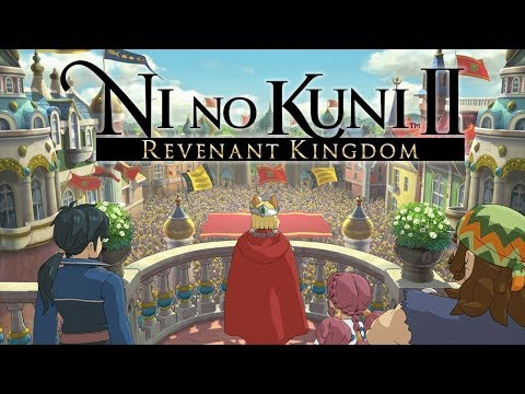 Ni No Kuni 2 ( Gameplay Demo Walkthrough ) PS4/ PC