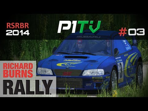 RSRBR 2014 #03 | Subaru Impreza WRC | Bruchsal | Richard Burns Rally