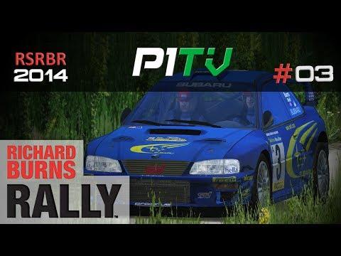 RSRBR 2014 #03 | Subaru Impreza WRC | Bruchsal | Richard Burns Rally