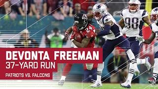 Devonta Freeman Breaks Huge Run! | Patriots vs. Falcons | Super Bowl LI Highlights