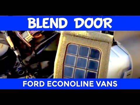 Ford Econoline $5 Rear Air Blend Door Fix - YouTube