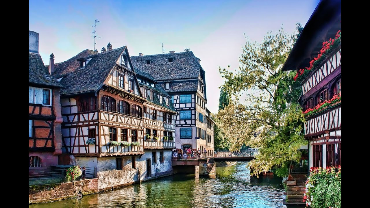 Famous Tourist Attractions Strasbourg France
