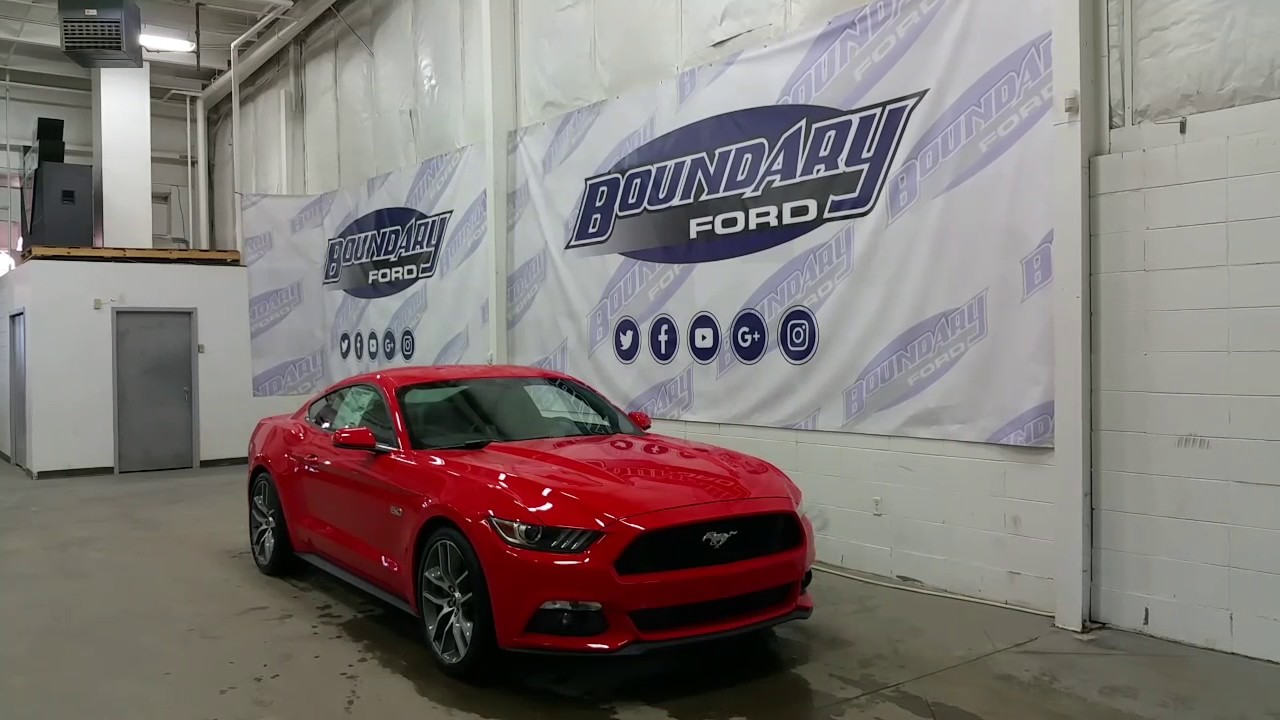 2017 Ford Mustang Gt Premium Coupe W 5 0l Manual Transmission Review Boundary