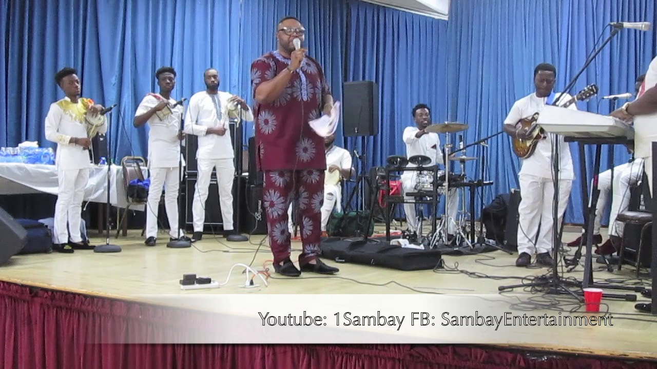 Download Alashe Sammy Jerry Live in Irvington, New Jersey U.S.A